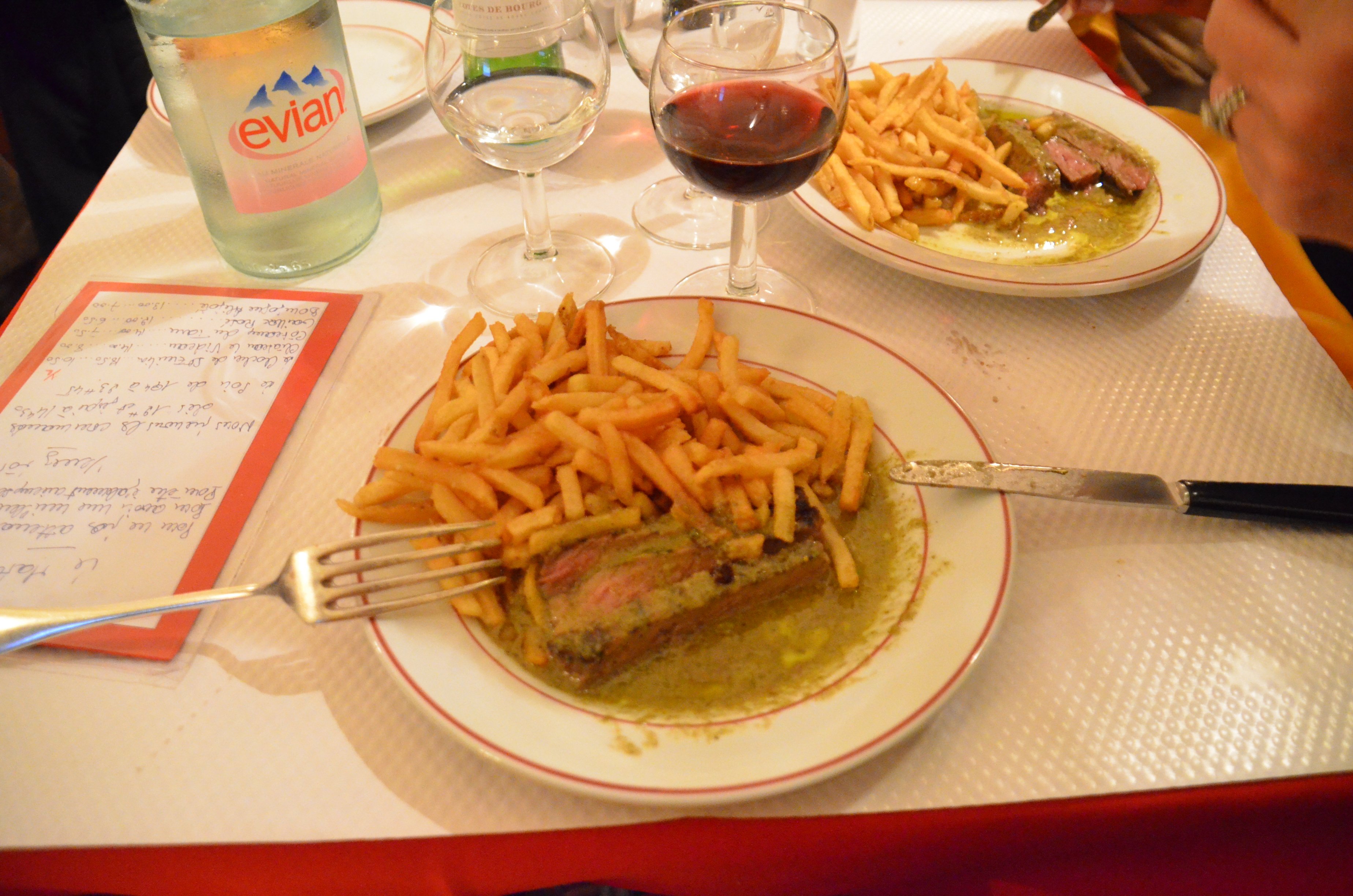 The opposite of a typical french dinner no choices for Cuisine francaise